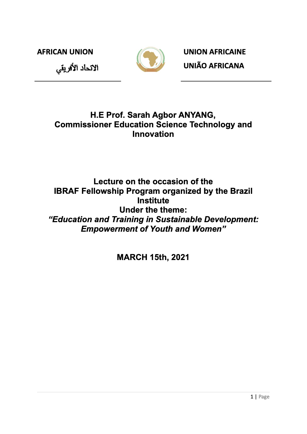 FINAL LECTURE FOR THE BRAZIL INSTITUTE 15 MARCH 2021.doc (1)